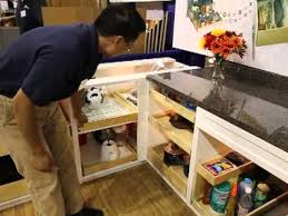 Blind Corner Kitchen Cabinet by Shelfgenie Of Seattle Homeshow Booth Tour Pantry Blind Corner