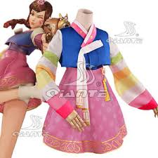 costume new year ow overwatch d v a kimono dress dva new year skin costume ebay