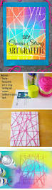 15 lovely diy string crafts for kids that are a must try