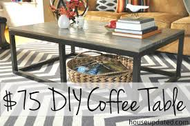 Build A End Table Plans by How To Build A Diy Industrial Coffee Table For Only 75 24 House