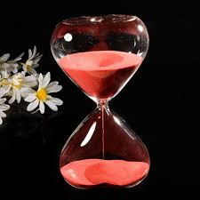 aliexpress com buy 15 minutes heart shaped crystal transparent