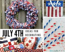 Fourth Of July Table Decoration Ideas 48 Fun 4th Of July Decorating Ideas Favecrafts Com