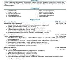 Resume Samples Warehouse by Resume Template Getresumes Twitter