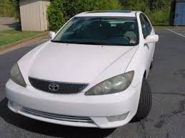 2005 Camry Interior Toyota Camry Se 70 Used White 2005 Toyota Camry Se Cars Mitula