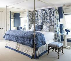 Best  Blue Cobalt  Images On Pinterest Blue And White - Blue and white bedroom designs