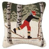hooked wool pillows from throwmeapillow