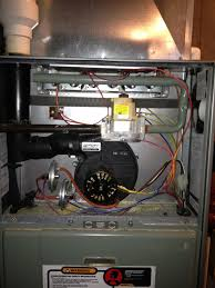 very strange situation with a rudd high efficiency furnace