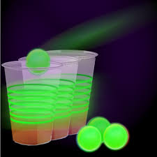 Glow In The Dark Table by Glow In The Dark Beer Pong Party Pack