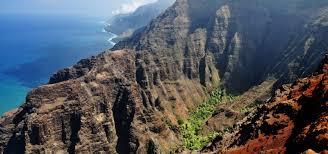 Hiking Maps Kokee And Waimea State Park Hiking Trails Kauai Hawaii