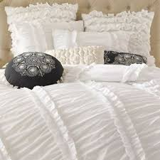 Shabby Chic White Comforter by 6 Pc Anthology Clara Ruffle Comforter Set French Country Shabby