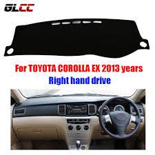 toyota corolla dash mat car dashboard cover mat for toyota corolla ex 2013 years right