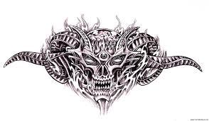bio mechanical tattoos