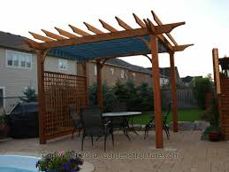 retractable canopy pergolas toronto a small canvas patio cover