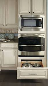 microwave over double oven kitchen pinterest oven kitchens