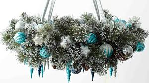Holiday Wreath Video Learn U0026 Do Holiday Wreath Chandelier Martha Stewart