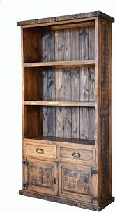 best wood for bookcase 15 best ideas of rustic bookcases