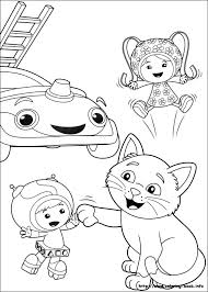 umizoomi coloring picture coloring activities