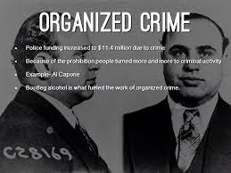 organized crime the roaring 20 u0027s by kayla crabtree