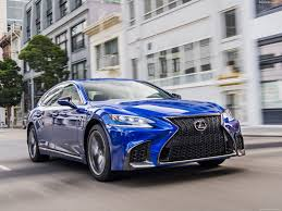 lexus sports car blue lexus ls 500 f sport 2018 pictures information u0026 specs