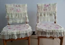 shabby chic dining chair slipcovers perseosblog dining room site