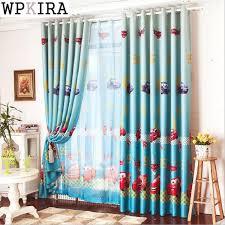 Blue Curtains Bedroom Aliexpress Buy Window Car Curtain Living Room Boys Children