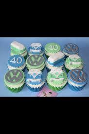 cupcake inspiration volkswagen vw combi campervan cupcake