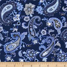 Paisley Home Decor Fabric by Blues Clues Large Paisley Blue Dark Blue From Fabricdotcom This
