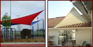 custom tension fabric sail shades and sun shade sails riverside