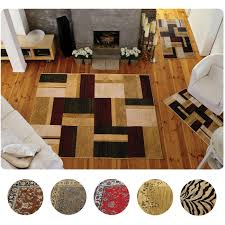 Area Rug Sets 3 Set Modern Or Traditional Area Rugs Scatter Throw Carpet