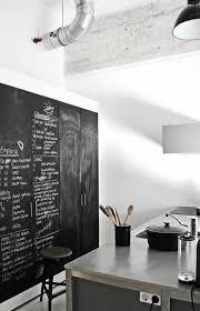 tableau craie cuisine cuisines cuisine moderniste ultra design interieur effacer