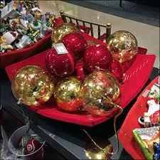 neiman table top buffet of ornaments fixtures up