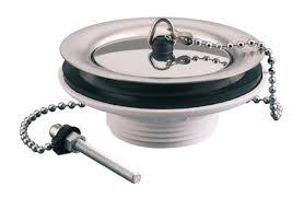 vidage evier cuisine bonde bouchon 40x49 d60 plastique inox pour évier réf 70110000000