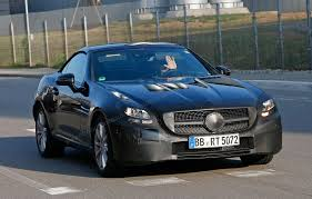 mercedes slk mercedes slc spied it s the 2016 slk by car magazine