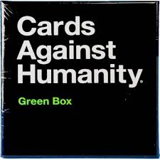 cards against humanity expansion cards against humanity the green box expansion
