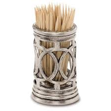 tooth pick holders pewter glass toothpick holders cosi tabellini