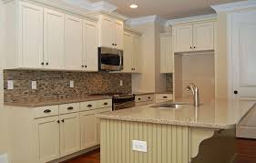 kitchen murals backsplash granite countertop white cabinets hardware mural tiles for