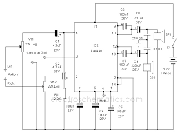 la4440 subwoofer circuit diagram pdf circuit and schematics diagram