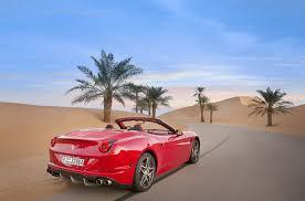 Ferrari California 2016 - ferrari california t chases the dunes video