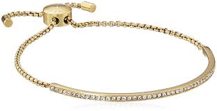 bracelet kors images Michael kors pave bar slider gold bracelet jewelry jpg