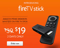 amazon black friday firestick amazon fire tv stick just 19 99 amazon prime members the