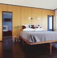 Bed Book Shelf Bedroom Modern With Magazine Rack Rift White Oak - Jonathan adler bedroom
