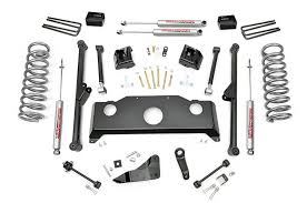 2010 dodge ram lift kit 4wd country 5in dodge arm suspension lift kit gas premium n20
