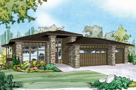 Walk Out Basement House Plans by Inspirational Prairie Style House Plans With Walkout Basement