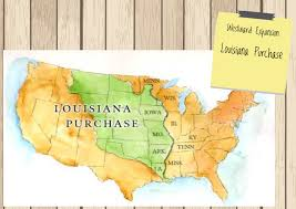 Louisiana Territory Map by The Louisiana Purchase By Ide Strickland Thinglink