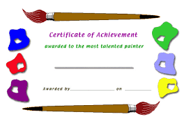 free certificate maker painter gif letterhead template sample