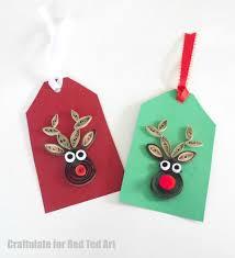 felt reindeer ornament ted s
