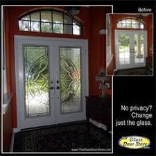 Exterior Glass Door Inserts 8 Ft Front Doors With Partial Glass Door Inserts For A 3 4
