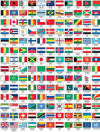 flags of the world with names capital work ideas