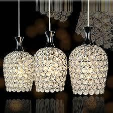 3 Light Kitchen Pendant Dinggu Modern 3 Lights Crystal Pendant Lighting For Kitchen