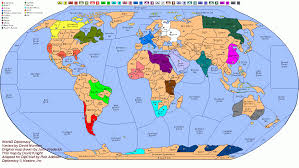 map world maps with names